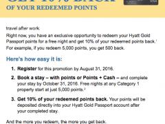 hyatt-ten-percent-back